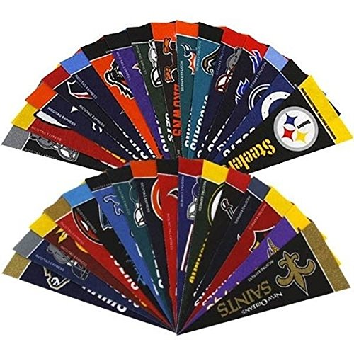 Football Team Flag Banner (NFL Football 4 x 9 Mini Pennant Banner Flag 32 Team Complete Set Fan Cave Decor)