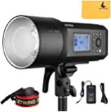 Godox AD600Pro 600Ws TTL Built-in 2.4G HSS All-in-One Outdoor Flash with Li-on Battery Built-in Godox Wireless X System…