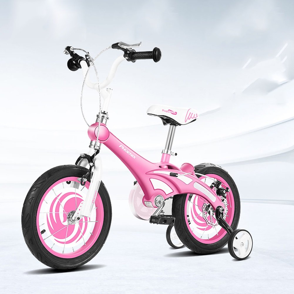 XQ ピンクの子供の自転車3-13歳の少年少女マグネシウム合金キッズバイク 子ども用自転車 ( サイズ さいず : Length-115cm ) B07C2M17FC Length-115cm Length-115cm
