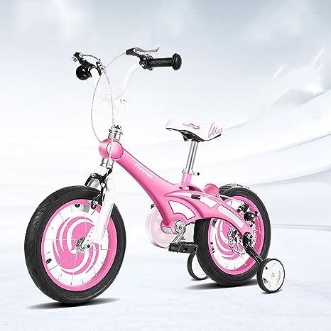 XQ Rosado Bicicletas Para Niños 3-13 Años De Edad Chico Chica Aleación De Magnesio