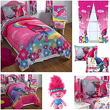 Trolls Twin Complete Bedding