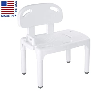 Admirable Carex Universal Tub Transfer Bench Shower Bench And Bath Seat Chair Converts To Right Or Left Hand Entry Machost Co Dining Chair Design Ideas Machostcouk