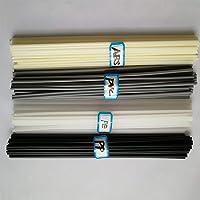 Black PP/Beige ABS/White PE/Grey PVC Pastic Welding Rod Car/Pipe/Plastic Welder Electrode 9.8 inch/pc(Each 10pcs welding…