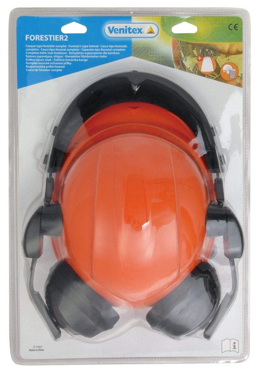 Venitex Forestier 2 Forestry Safety Helmet With Ear Defenders and Face Shield 3295249125783