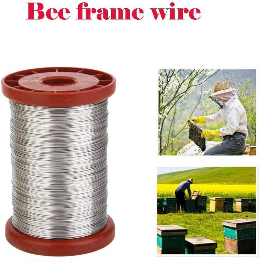 Beekeeping Equipment Bee Hive Tool Beekeeper Tool Shumo 2Pcs 0.5mm 500G Iron Bee Hive Frame Wire