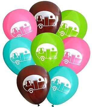 Amazon.com: Globos de látex para caravana (16 unidades) de ...