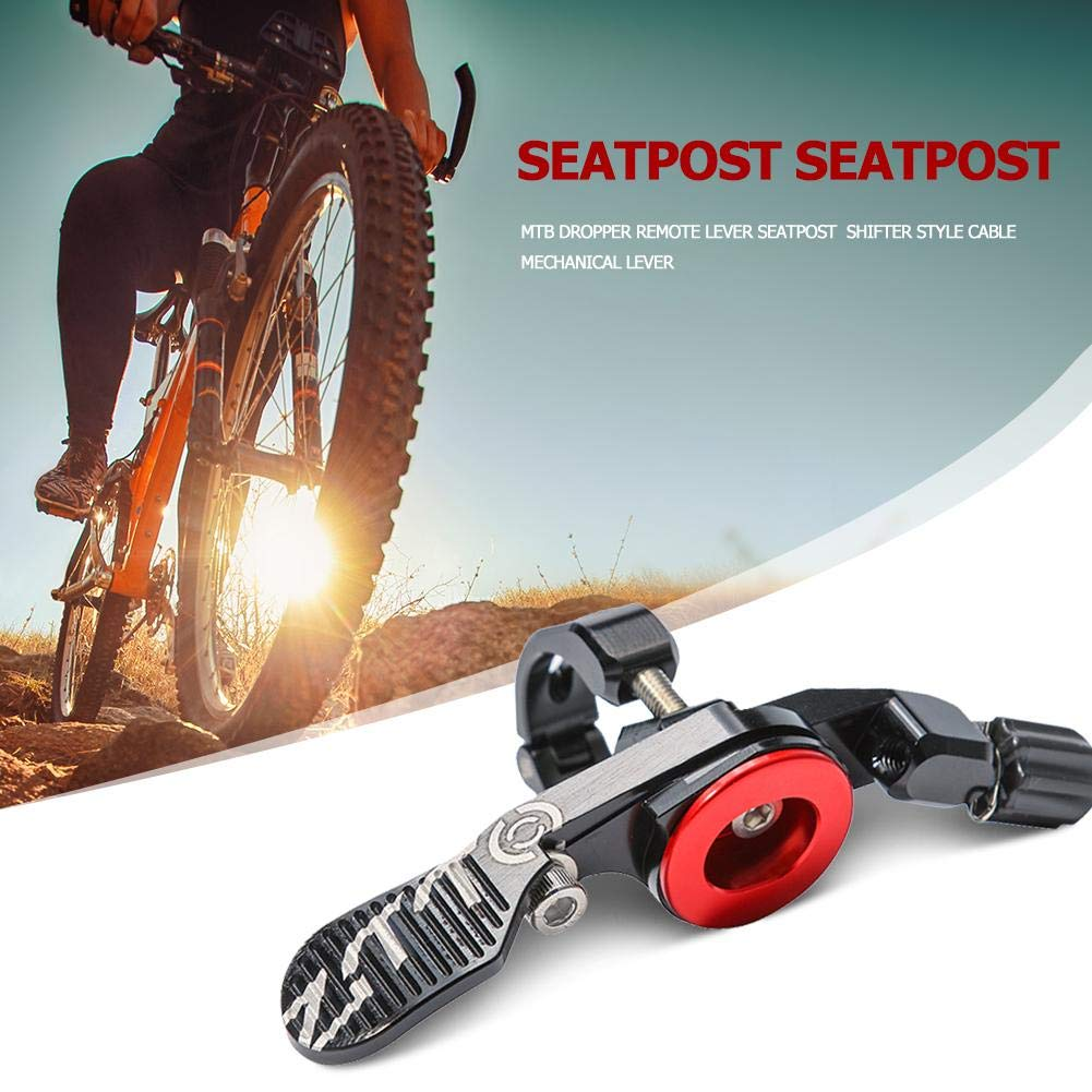 MTB Dropper Remote Lever Seatpost under bar Shifter Style Cable Lever Mechanical