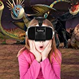 Canbor-Virtual-Reality-Headset-VR-Headset-VR-Goggles-Built-in-Stereo-Headphones-Microphone-for-3D-Movies-and-Games-Compatible-with-47-62-Inches-Apple-iPhone-Samsung-More-Smartphones