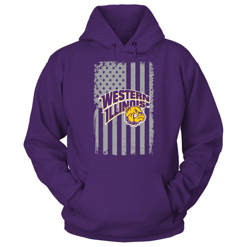 Western Illinois Leathernecks Tshirt Flag Pride