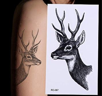 yyyDL Etiqueta engomada impermeable del tatuaje Gran brazo ...