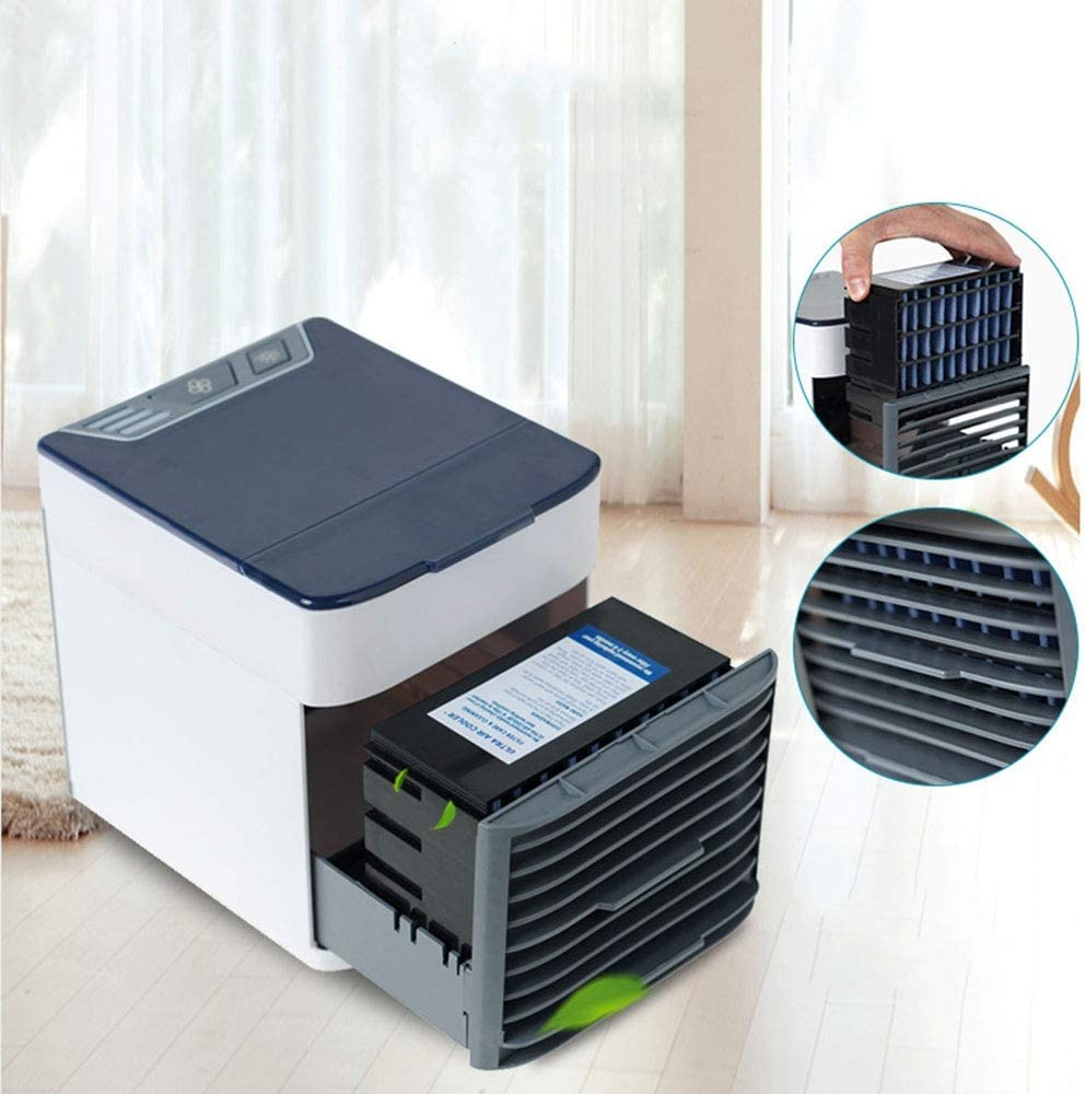Mini Enfriador Portátil Mini Refrigerador De Aire Ventilador ...