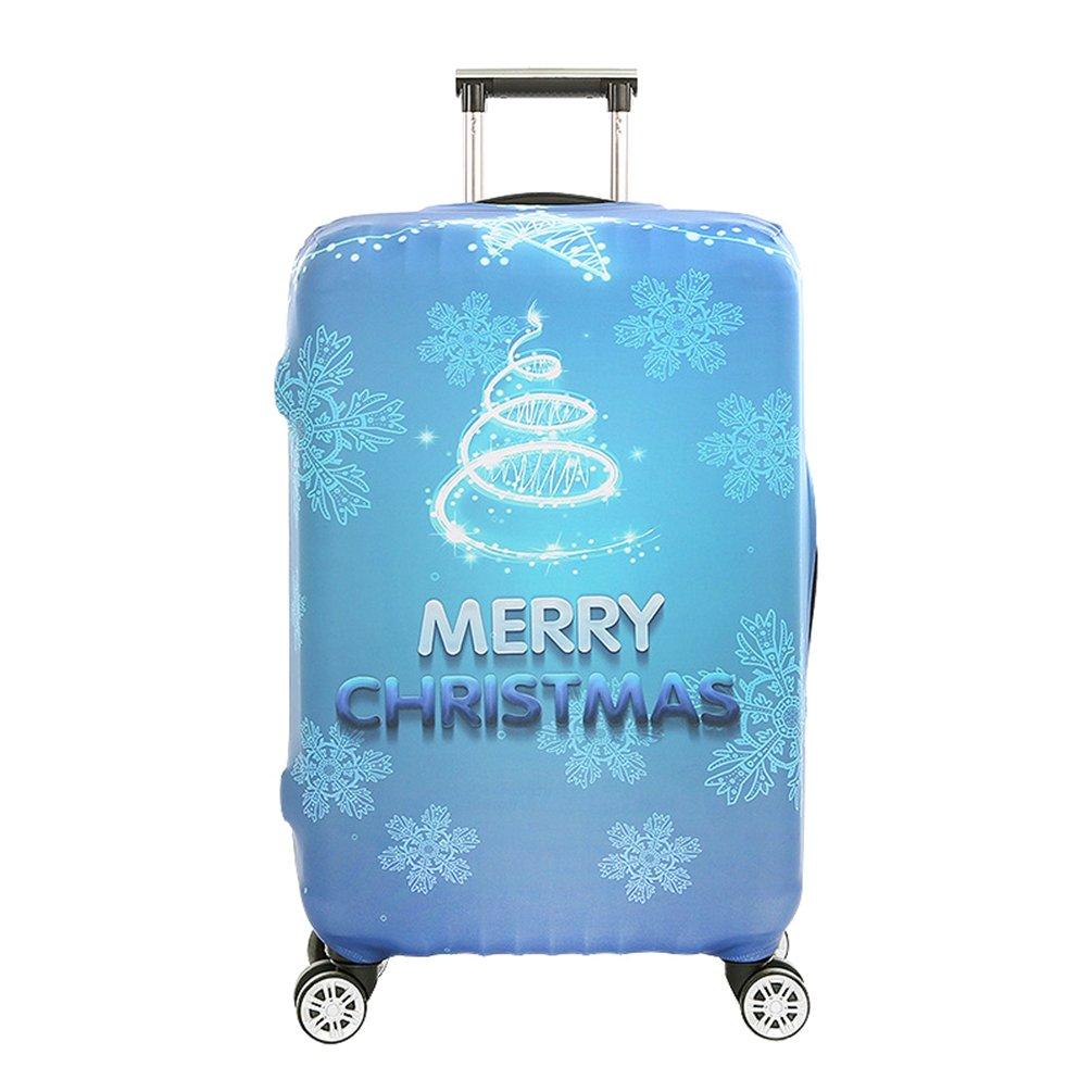 YiJee Protettore dei Bagagli Valigia Borsa Elastica Natale Protettiva Cover per 18-32 Pollici