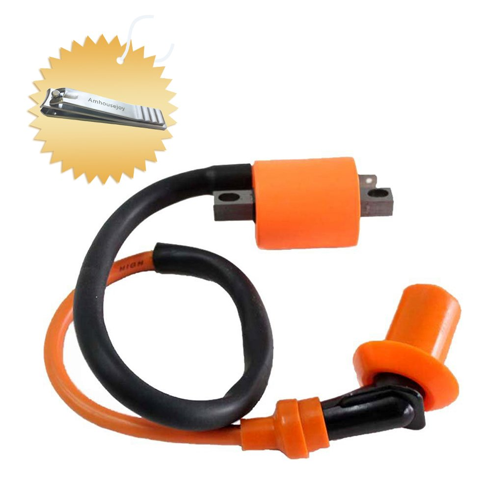 High Performance Racing Ignition Coil for Yamaha YFS200 Blaster Atv 1988-2006 by Amhousejoy
