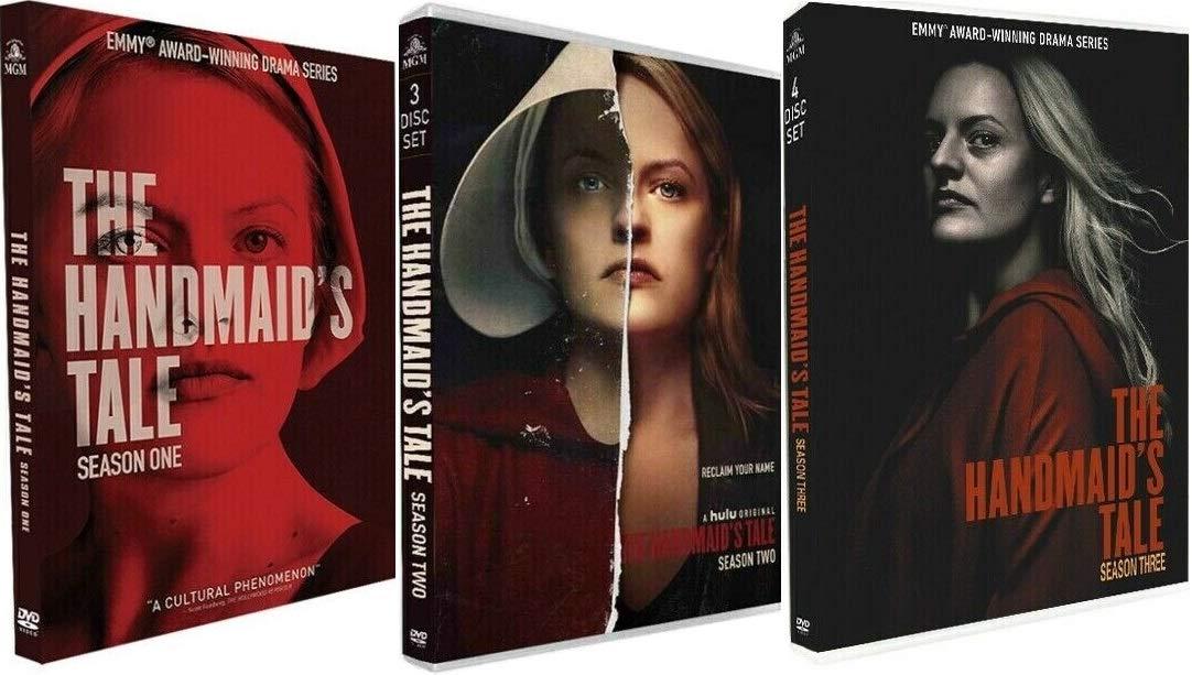 The Handmaid S Tale Complete Series Season 1 2 3 Dvd Movies Tv