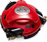 Grillbot Grill Cleaning Robot red   Applies the annoying and time-consuming cleaning of the cooking grill for you   Removes even stubborn deposits and encrustations effortlessly   Begins a button automatically with the cleaning, simple one-button operation   Suitable for gas and charcoal grills   Battery powered