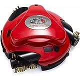 Grillbot Grill-Reinigungsroboter rot   Übernimmt die lästige und zeitraubende Reinigung des Grillrostes für Sie   Entfernt selbst hartnäckige Ablagerungen und Verkrustungen mühelos   Beginnt auf Knopfdruck selbstständig mit der Reinigung, einfache Ein-Tasten-Bedienung   Für Gas- und Holzkohlegrills geeignet   Batteriebetrieben