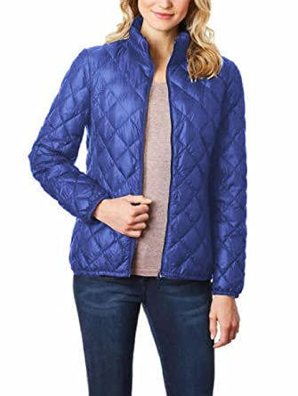 66cd17ea1f18f 32 DEGREES Heat Ladies  Packable Ultra Light Down Jacket at Amazon ...