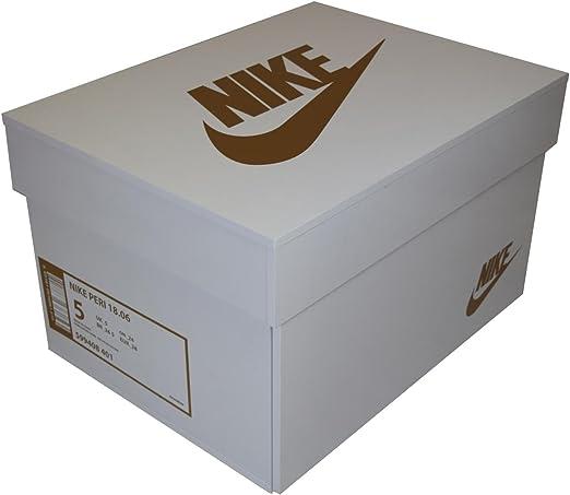 Caja para zapatillas Nike Oro Air, zapatero, 10-12 pares de zapatos, cartón: Amazon.es: Hogar