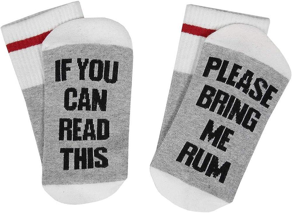 Unisex Christmas Valentine's Day Cotton Socks Please Do Not Disturb Novelty Funky Crew Socks Slipper Socks