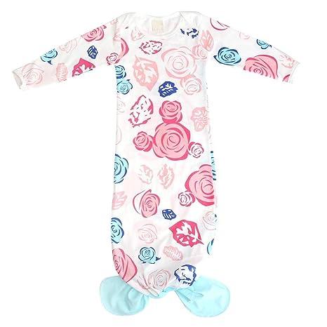 Silveroneuk - Saco de dormir de algodón para recién nacido, diseño de cola de pez
