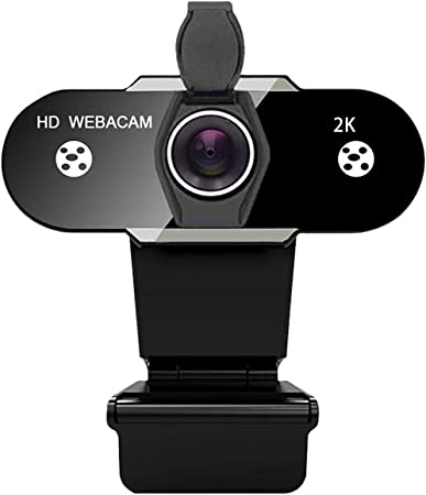 Studying 1080P HD upgraded version Conference Used for Youtube,Skype Video Calling INDMEM Full HD Webcam 2K//1440P Gaming Plug And Play Autofocus USB Webcam with Microphone for PC,Laptop,MAC