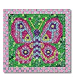 mosaic sticker by number - Melissa & Doug Peel and Press Mosaics Sticker by Number Kit: Butterfly - 650+ Stickers