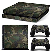 BHY Vinyl Decal Protective Skin Sticker for Playstation 4 PS4 Console and Controllers -No.a0050