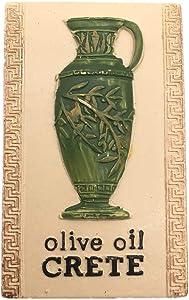 Fridge Magnet Olive Oil Crete Greece 3D Resin Handmade Craft Tourist Travel City Souvenir Collection Letter Refrigerator Sticker