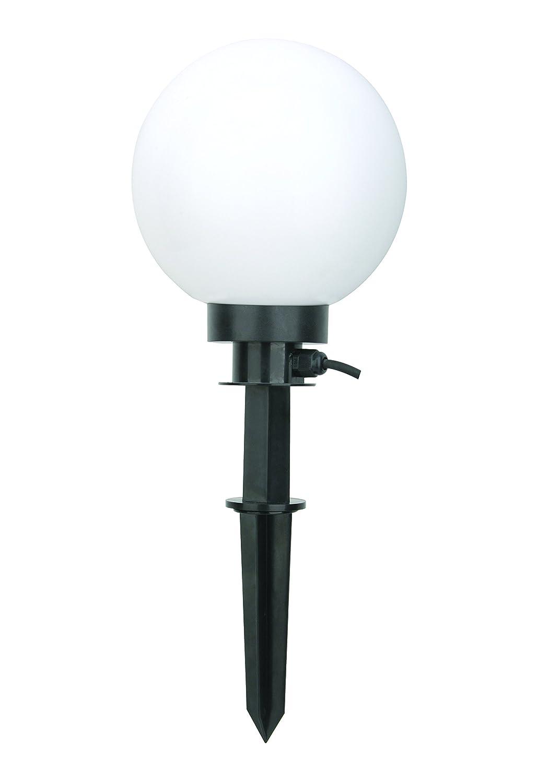 Bella Vita Dapo Gartenlampe Kugelleuchte 20cm Marlon Außenleuchte, Kugelleuchte, Gartenlampe mit Erdspieß Gartenkugel Kugellampe