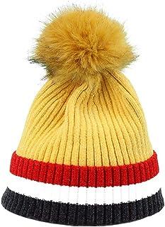Nosterappou Elegante e confortevole, indossando un cappello invernale, fuori dal cappuccio attività, circonferenza elastica della testa per adattarsi alla testa per mantenere caldo, può essere abbinat fuori dal cappuccio attività Looger24