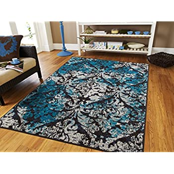 Amazon Com Luxury Rugs For Living Room Large 8x11 Area