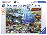 Ravensburger Oceanic Wonders 3000 Piece Jigsaw Puzzle for Adults - Softclick Technology Means Pieces Fit Together Perfectly