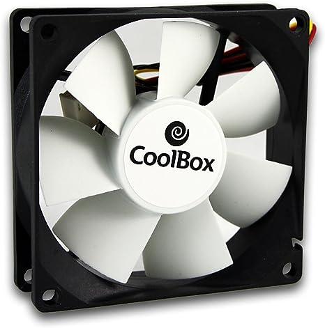 CoolBox Argos C-12 - Ventilador de PC (Carcasa del Ordenador ...
