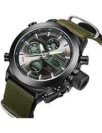 Watch, Big Face Sports Watch for Men, Waterproof Military...