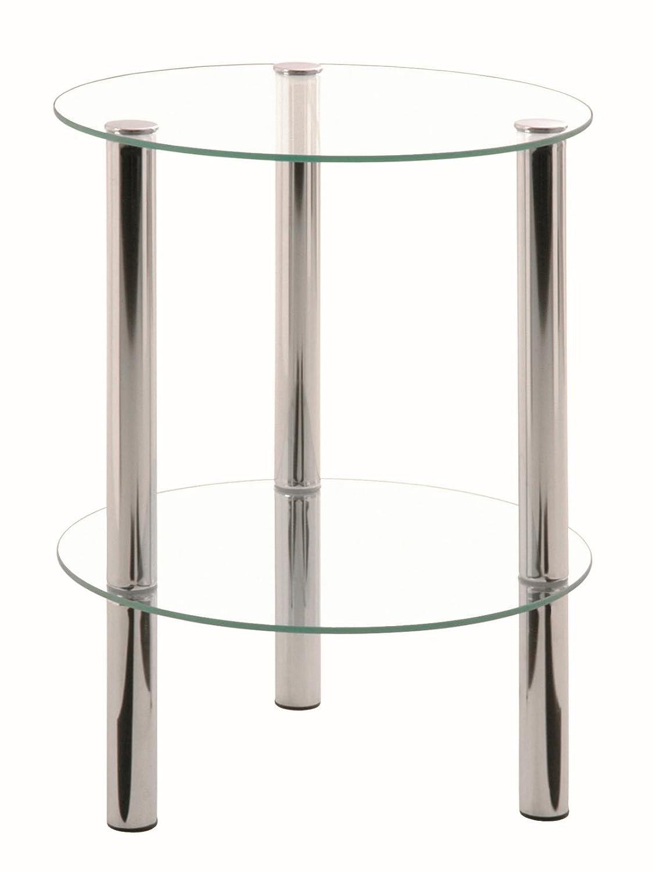 Haku Moebel 9024 Tavolino Trasparente 35 x 35 x 47 cm