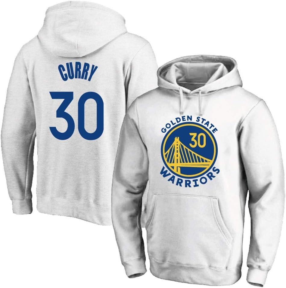 CAISHEN NBA Warriors 30# Curry Sudadera con Capucha De Baloncesto ...