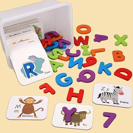 heDIANz - Juego de cartas 3D de abecedario digital, puzzle ...