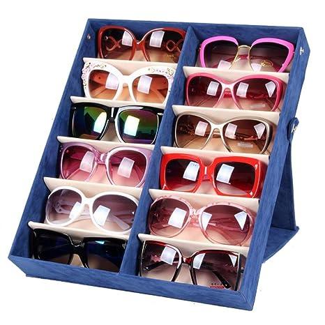 Wanlianer Gafas de Sol Gafas Caja de Almacenamiento de Gafas ...