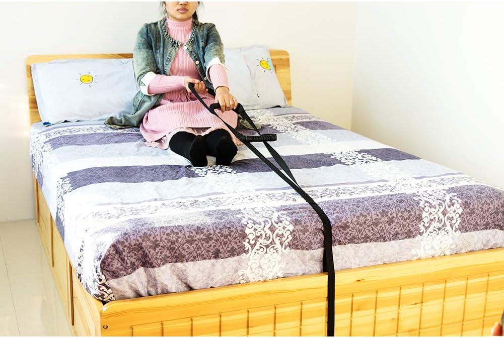 QEES ZYH69 - Asidero de cama ajustable para riel de cama, escalera, estructura de elevación de cuerda para adultos, ancianos, discapacitados, discapacitados, discapacitados: Amazon.es: Salud y cuidado personal