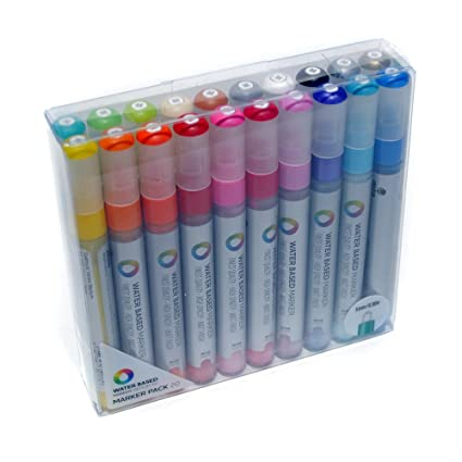 Uni&reg Paint Opaque Oil Based Paint Marker, Fine Point, 6 Color Set  (SAN63720)