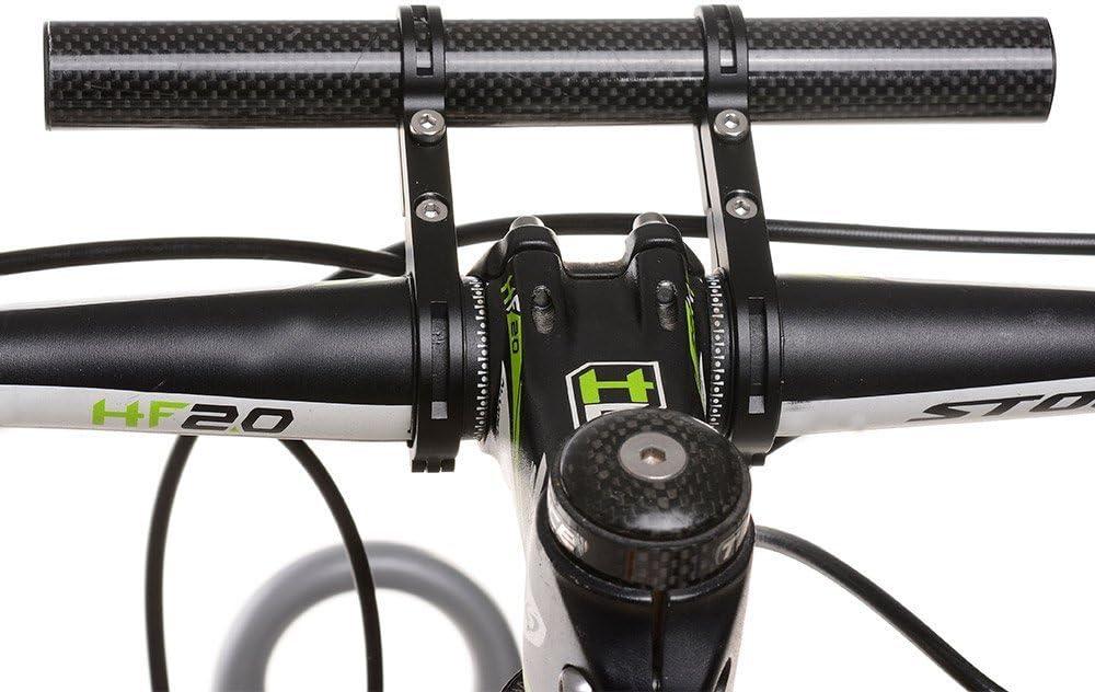 welinks 20 cm doble abrazadera de fibra de carbono bicicleta ...
