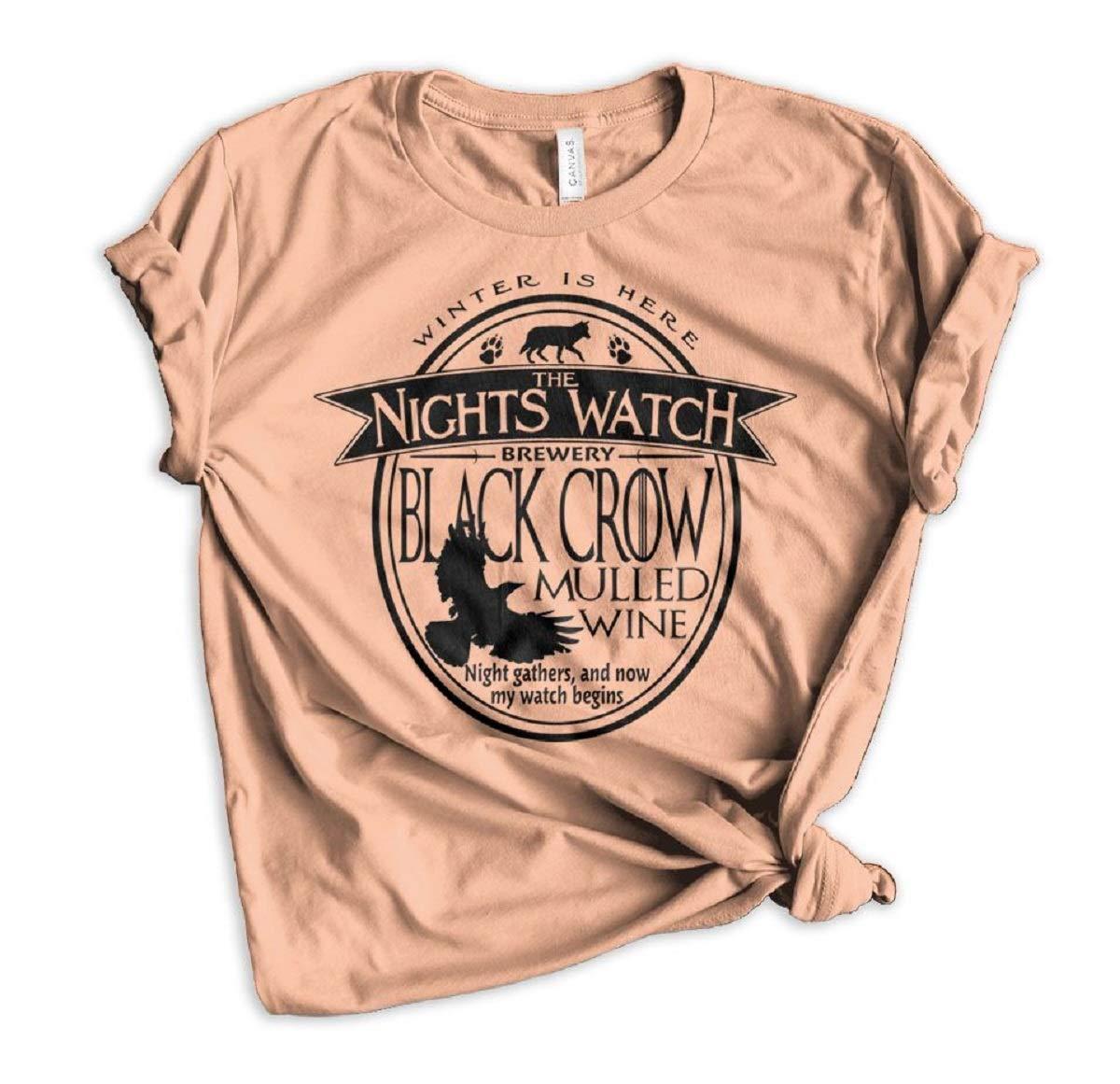 Jon Snow The Nights Watch Brewery Tee 9146 Shirts