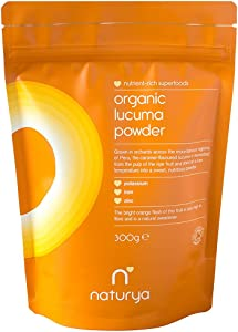 Naturya Organic Lucuma Powder 300gNutritional Power Food Pouch