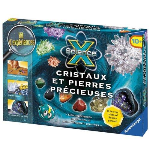 Ravensburger - Maxi Science X - Cristaux et Pierres précieuses