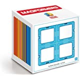 MAGFORMERS Super Square (12 Piece) Building Set, Rainbow