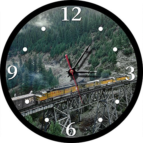 Union Pacific DDA40X in Feather River Canyon Round Clock]()