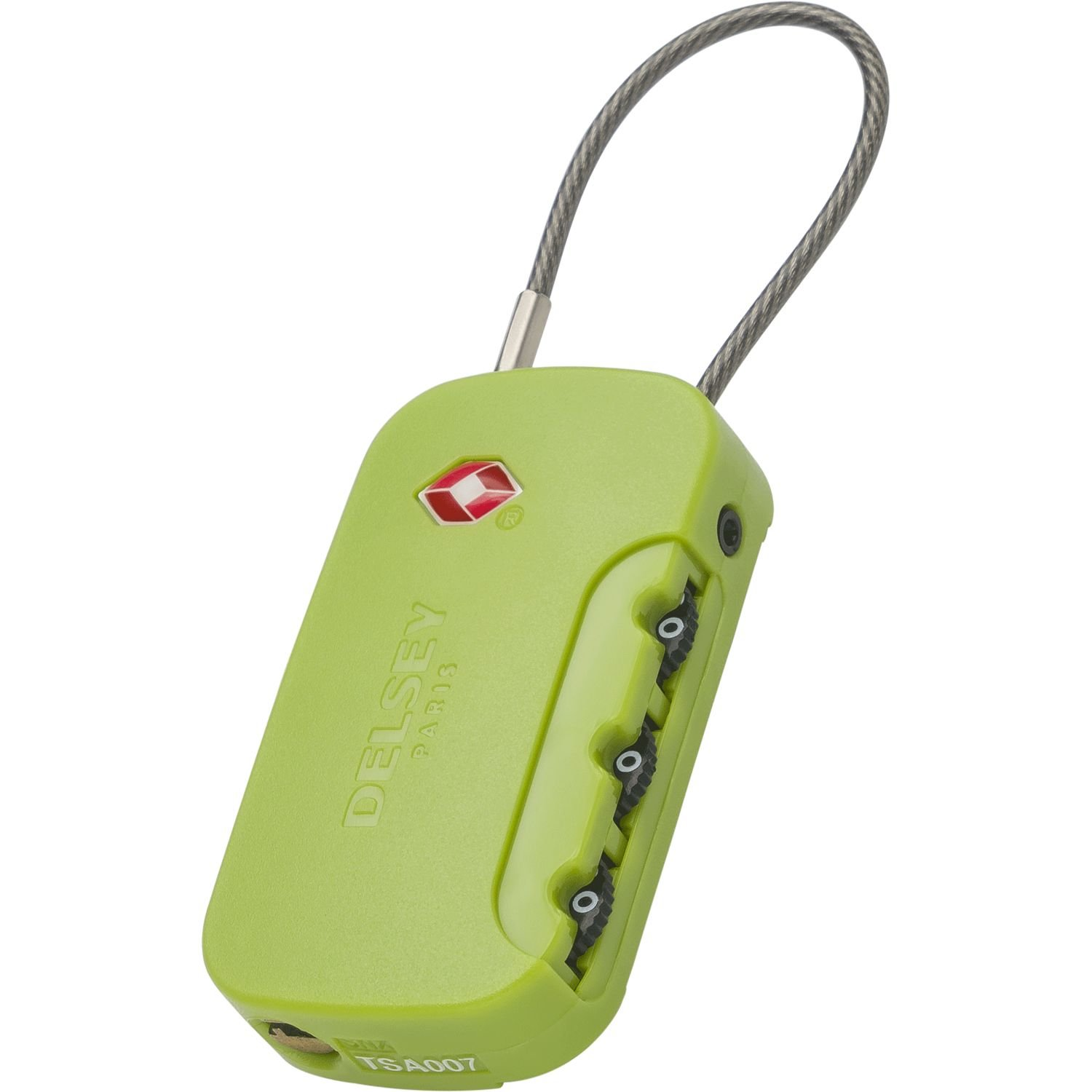 Delsey Luggage Lock red Red - 00394022004