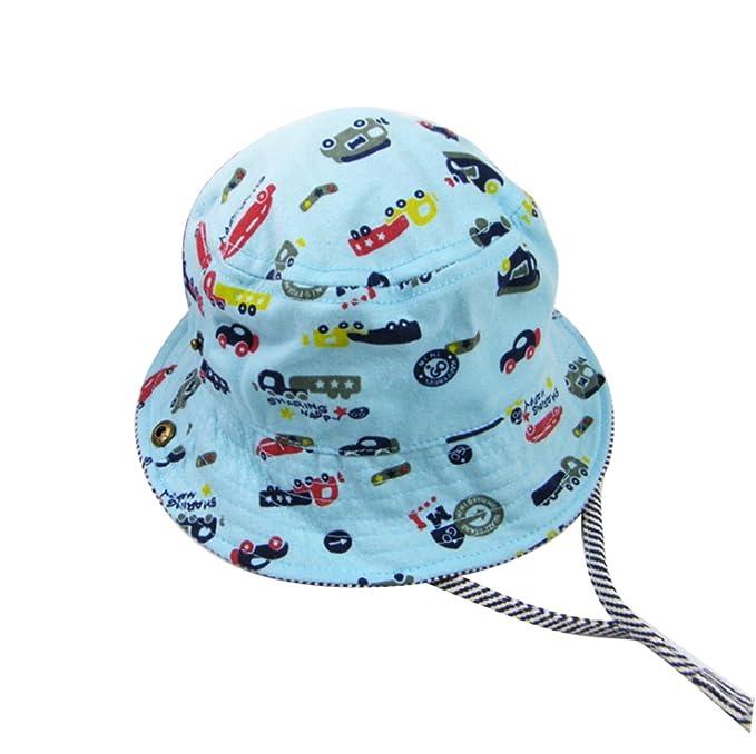 huateng Sombrero de bebé Sombrero de playa Sombrero de bebé transpirable para niño Sombrero de vaquero Sombrero de bebé para la respiración: Amazon.es: Ropa ...