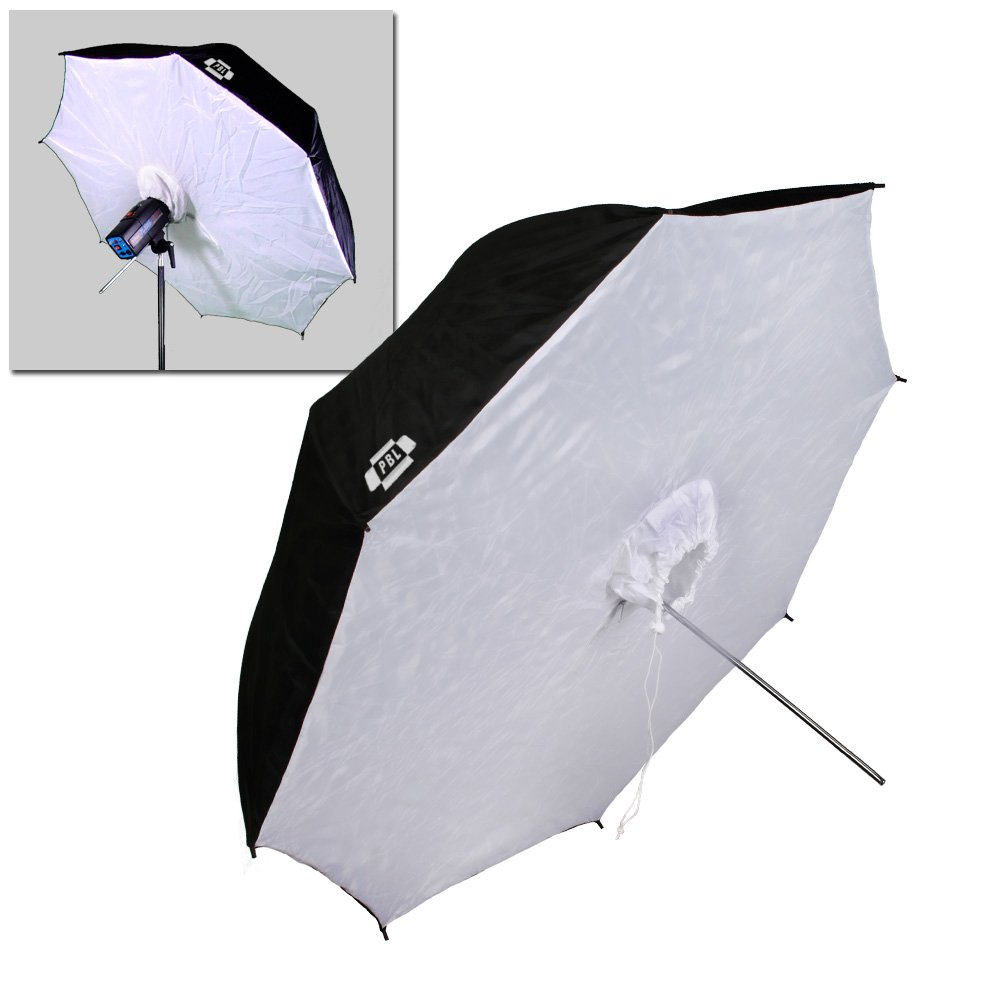 PBL Photo Studio 40in Reflective Umbrella Softboxes Set of Two Steve Kaeser Photographic Lighting