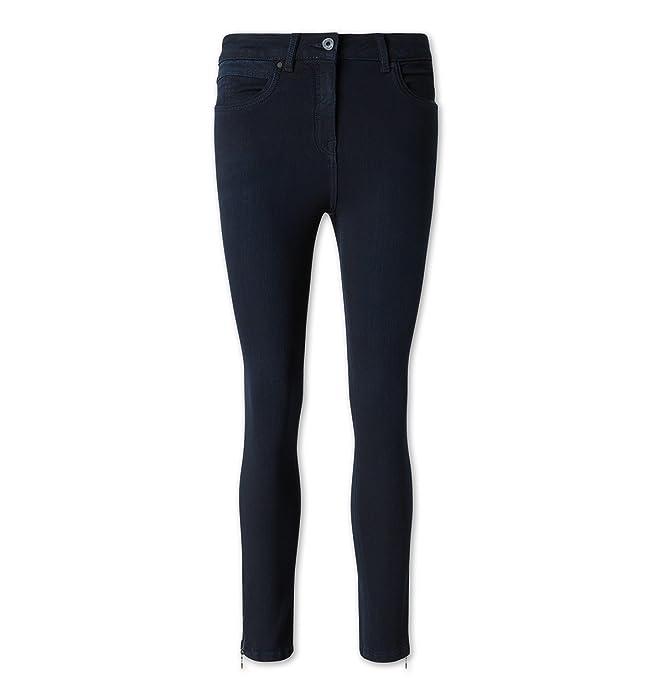 C&A Damen Jeans THE SKINNY aus Bio Baumwolle jeans dunkelblau